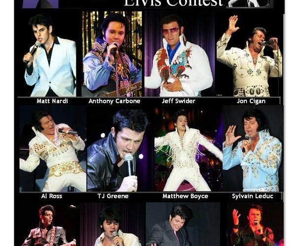 Jeune imitateur Elvis